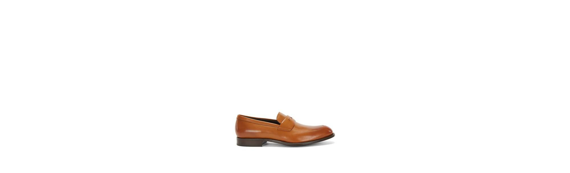 Italian Leather Penny Loafer Dress Shoe | Stockholm Loaf Apst, Brown