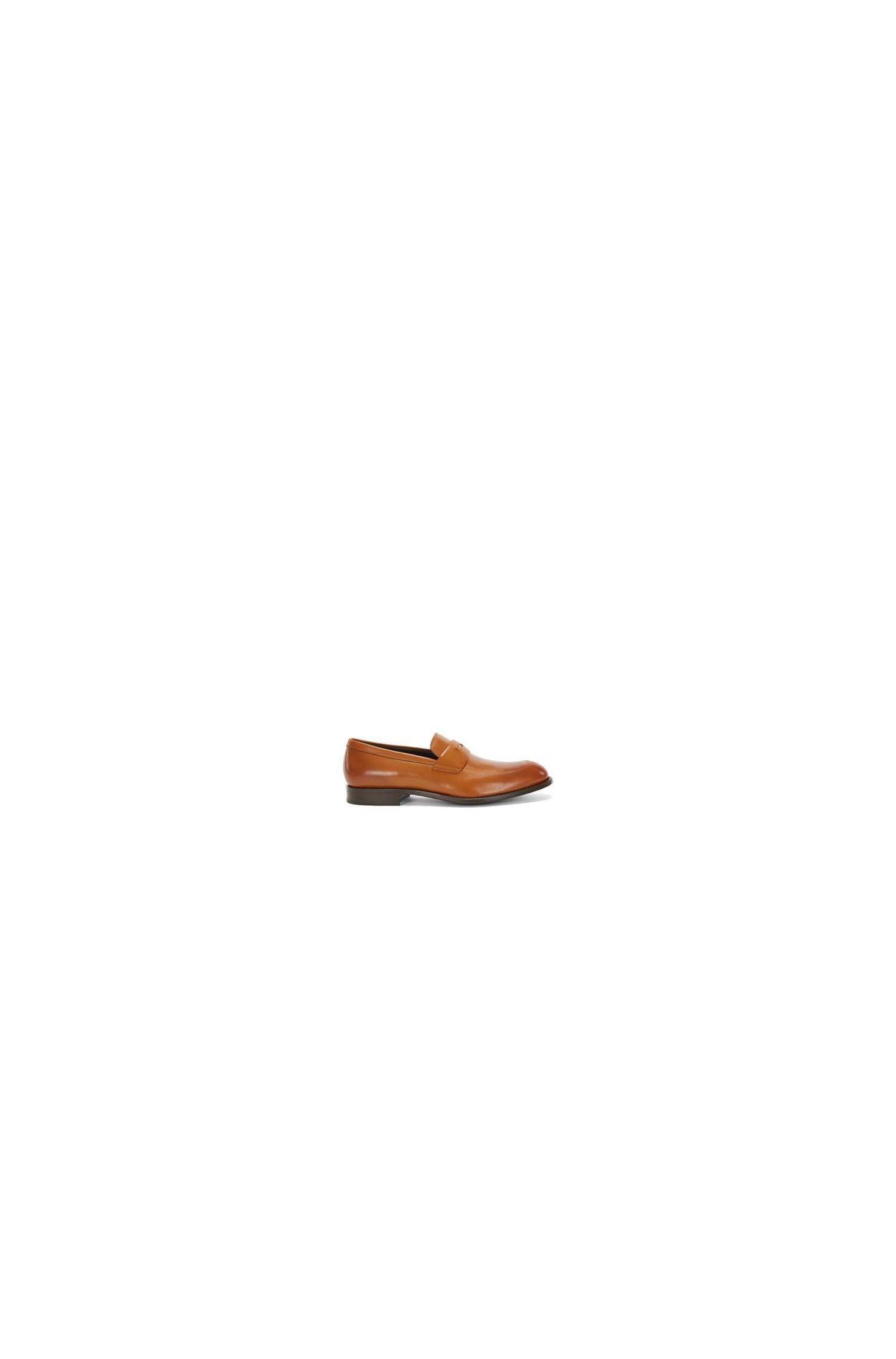 Italian Leather Penny Loafer Dress Shoe | Stockholm Loaf Apst
