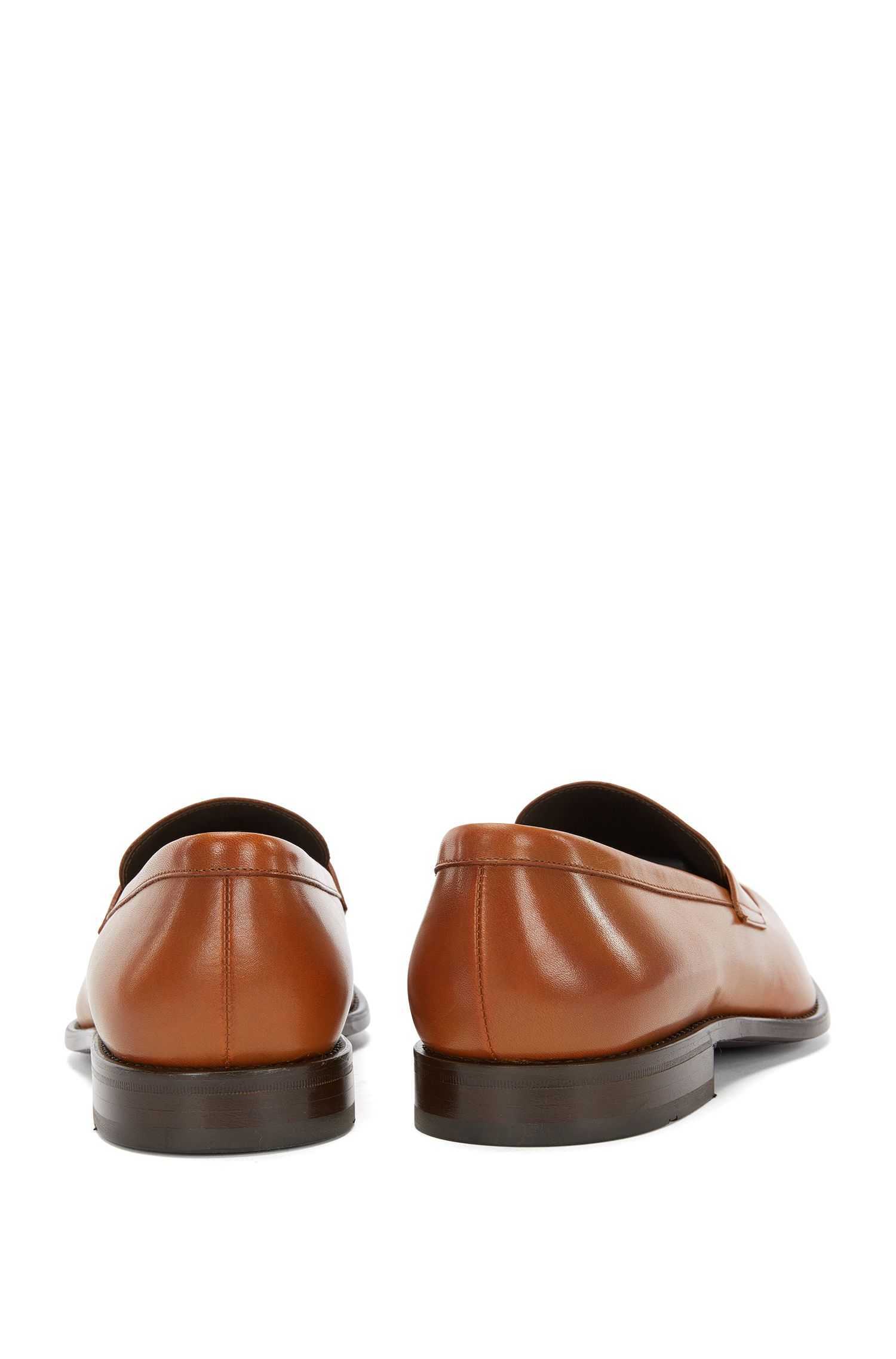 Italian Leather Penny Loafer Dress Shoe | Stockholm Loaf Apst