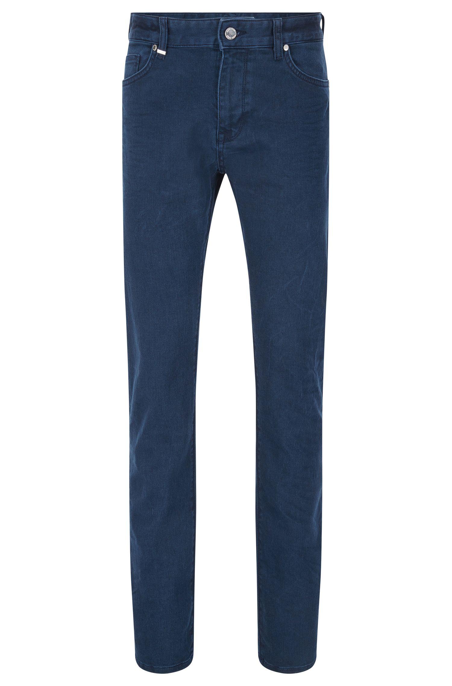 11.25 oz Stretch Cotton Jeans, Regular Fit   Maine