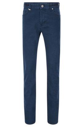 11.25 oz Stretch Cotton Jeans, Regular Fit   Maine , Dark Blue