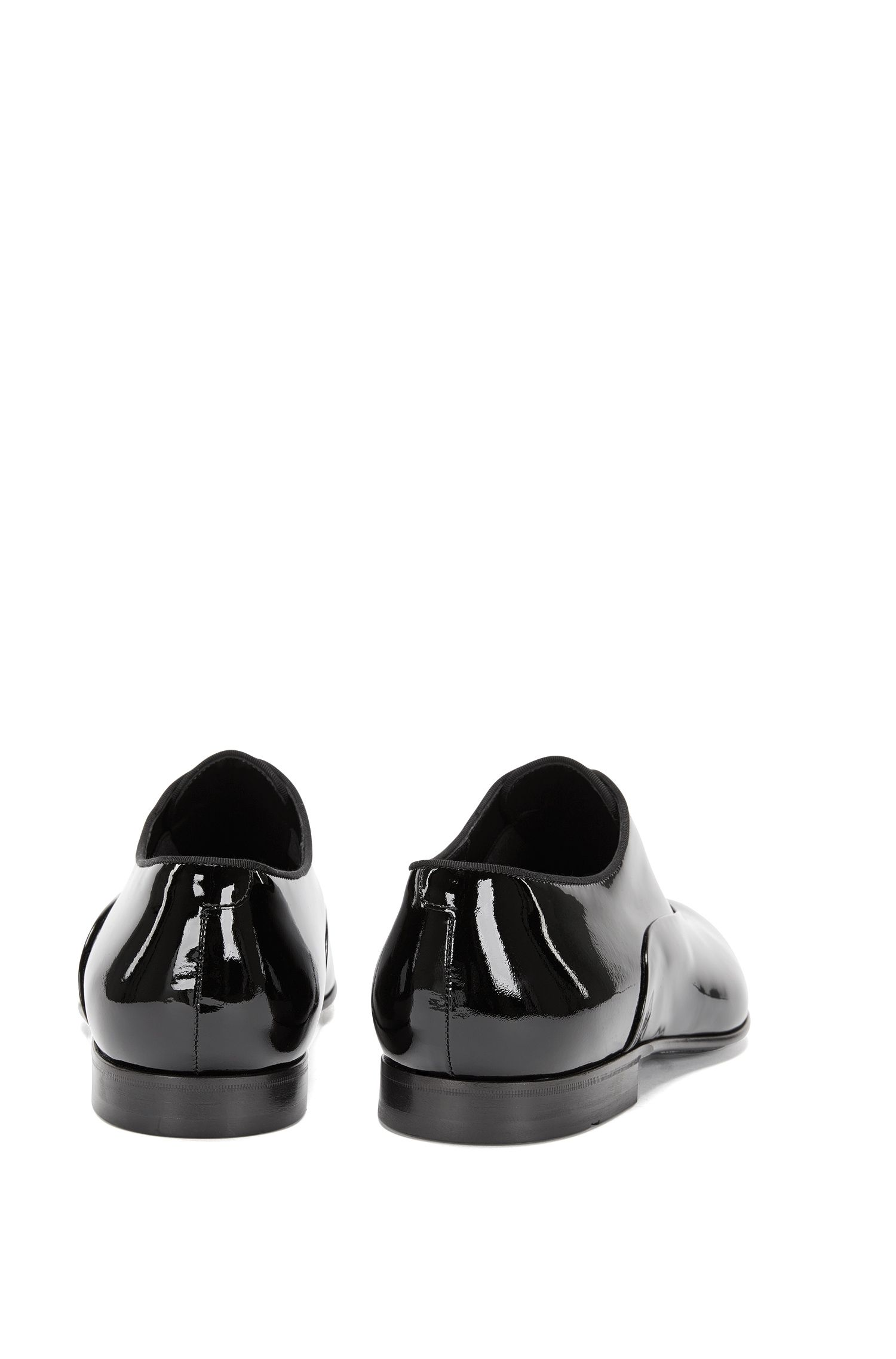 Italian Calfskin Patent Loafer | Evening Slon Pa