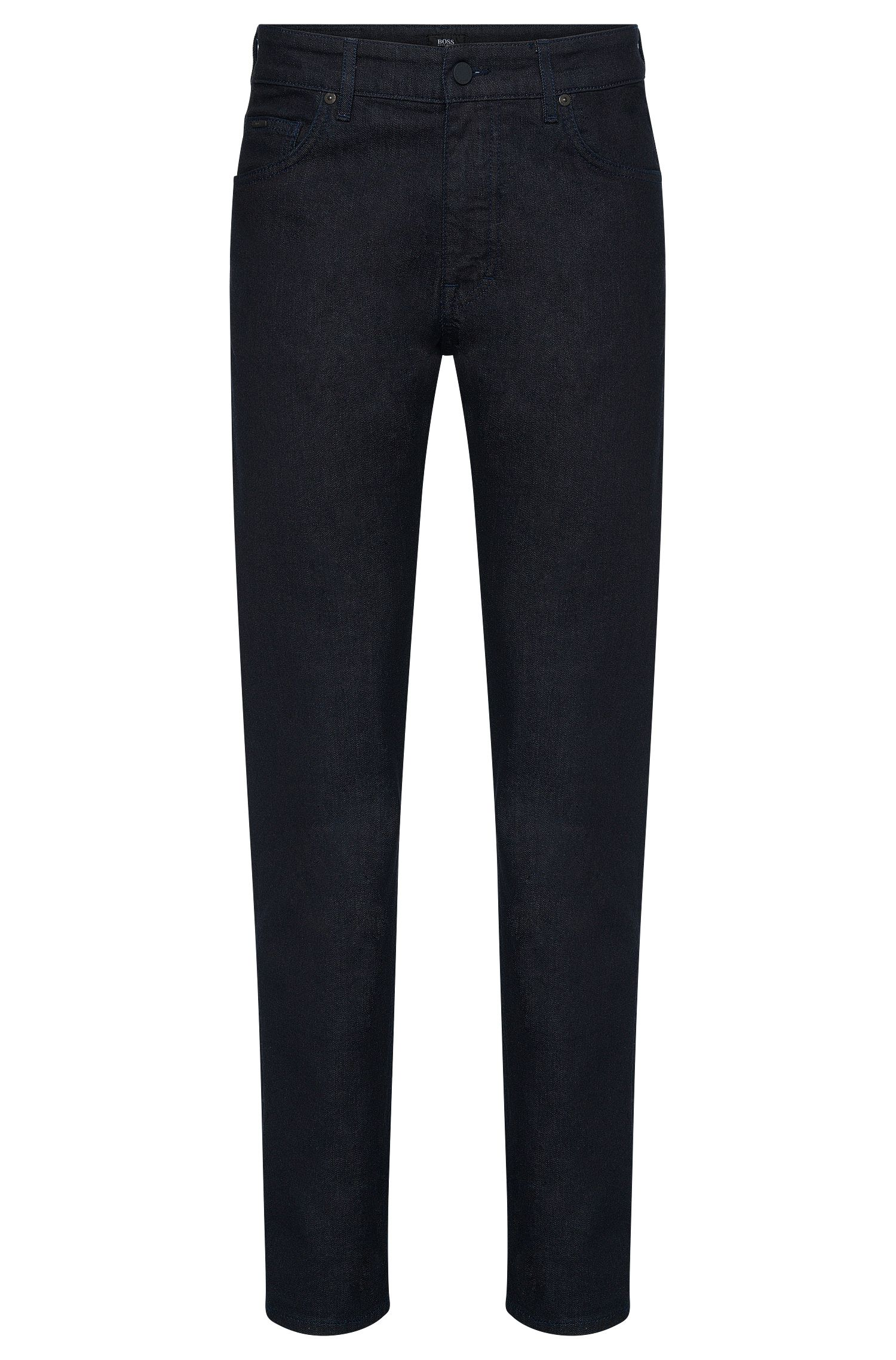 11 oz Stretch Cotton Jeans, Relaxed Fit | Albany