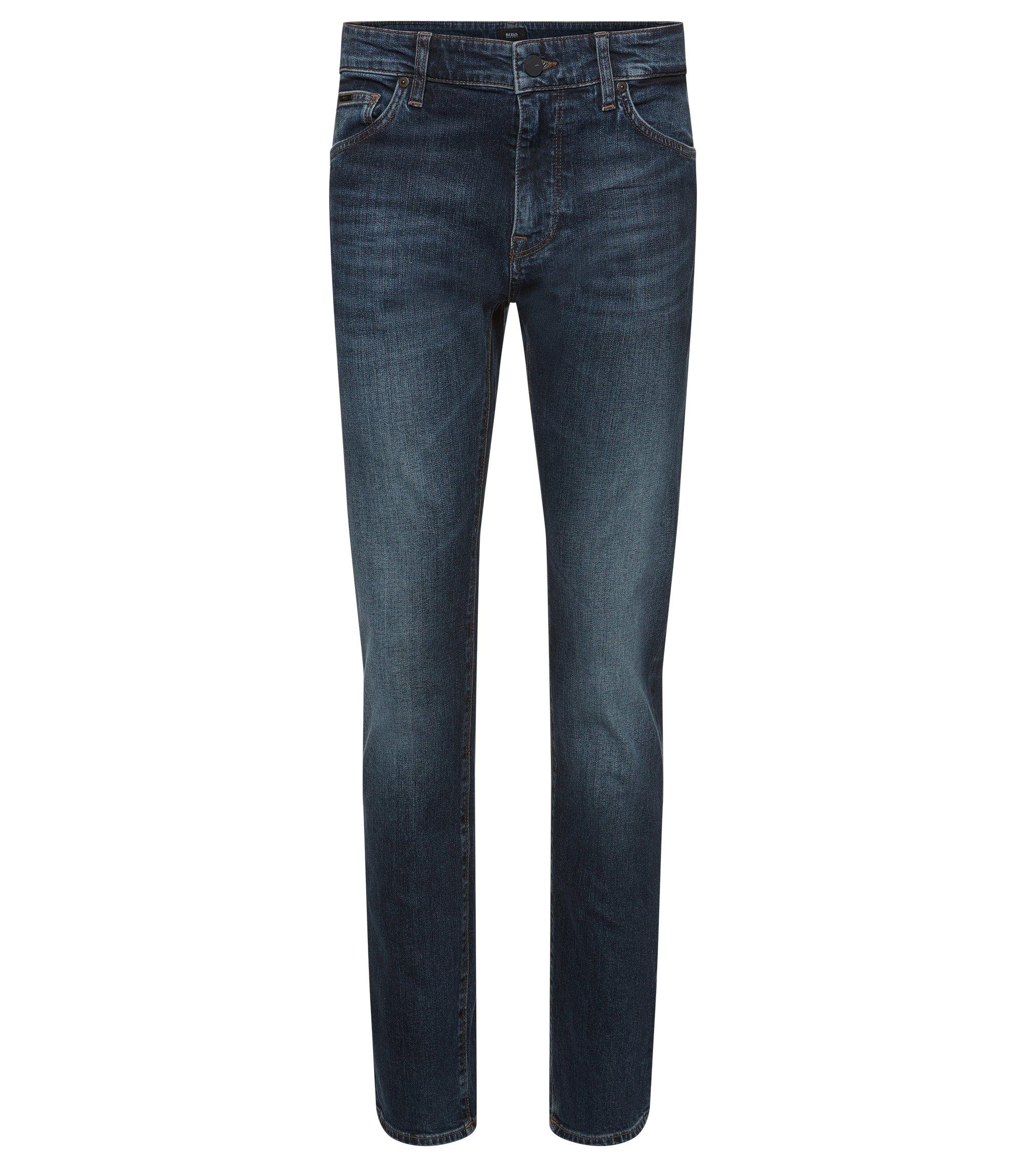 11 oz Stretch Cotton Jeans, Regular Fit   Maine, Blue