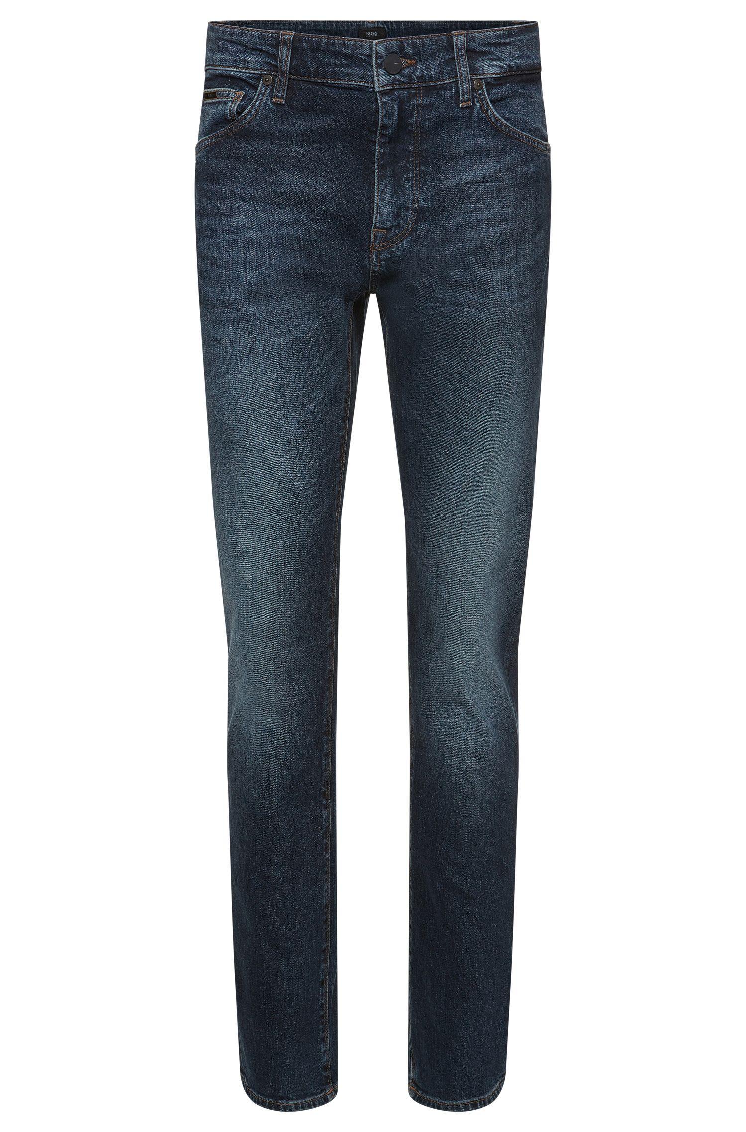 11 oz Stretch Cotton Jeans, Regular Fit   Maine