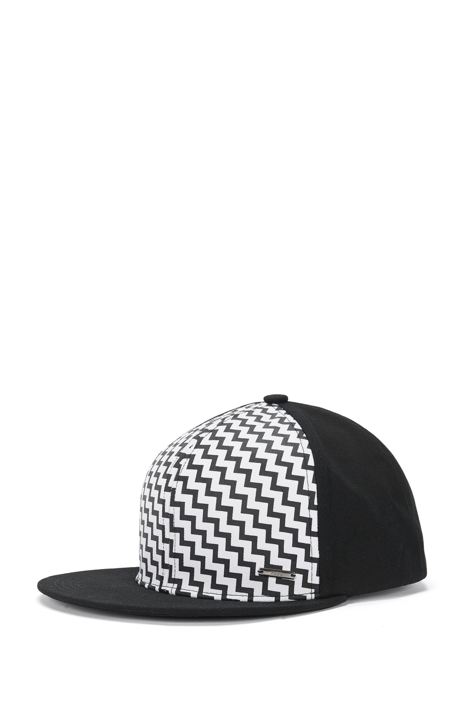 'Men X' | Cotton Patterned Baseball Cap