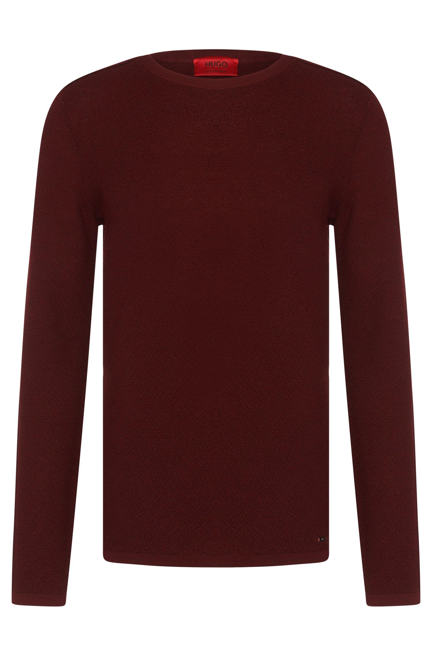 'Salexo' | Merino Virgin Wool Textured Sweater