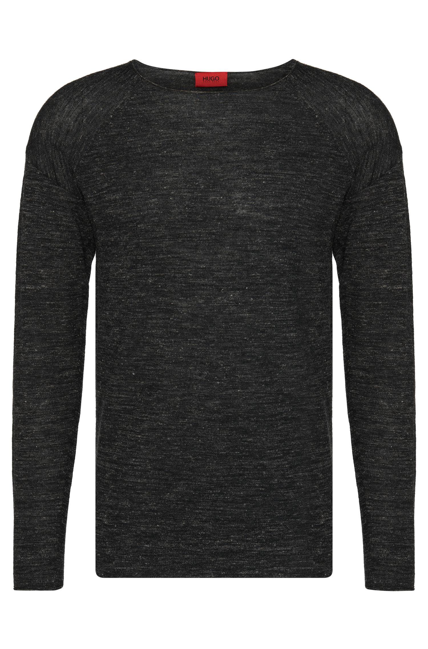 'Sullmore' | Virgin Wool Linen Melange Sweater