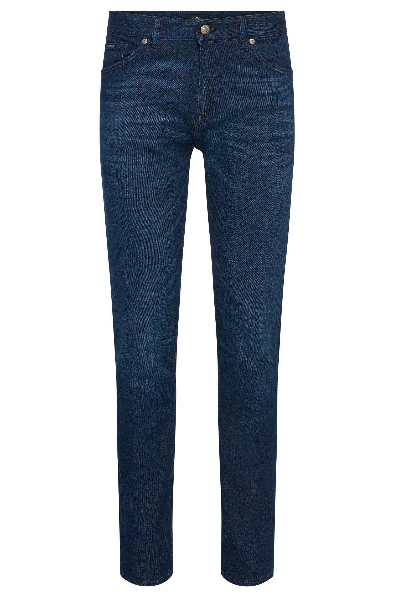 10 oz Stretch Cotton Blend Jeans, Regular Fit | Maine