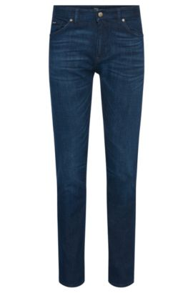 10 oz Stretch Cotton Blend Jeans, Regular Fit | Maine, Blue