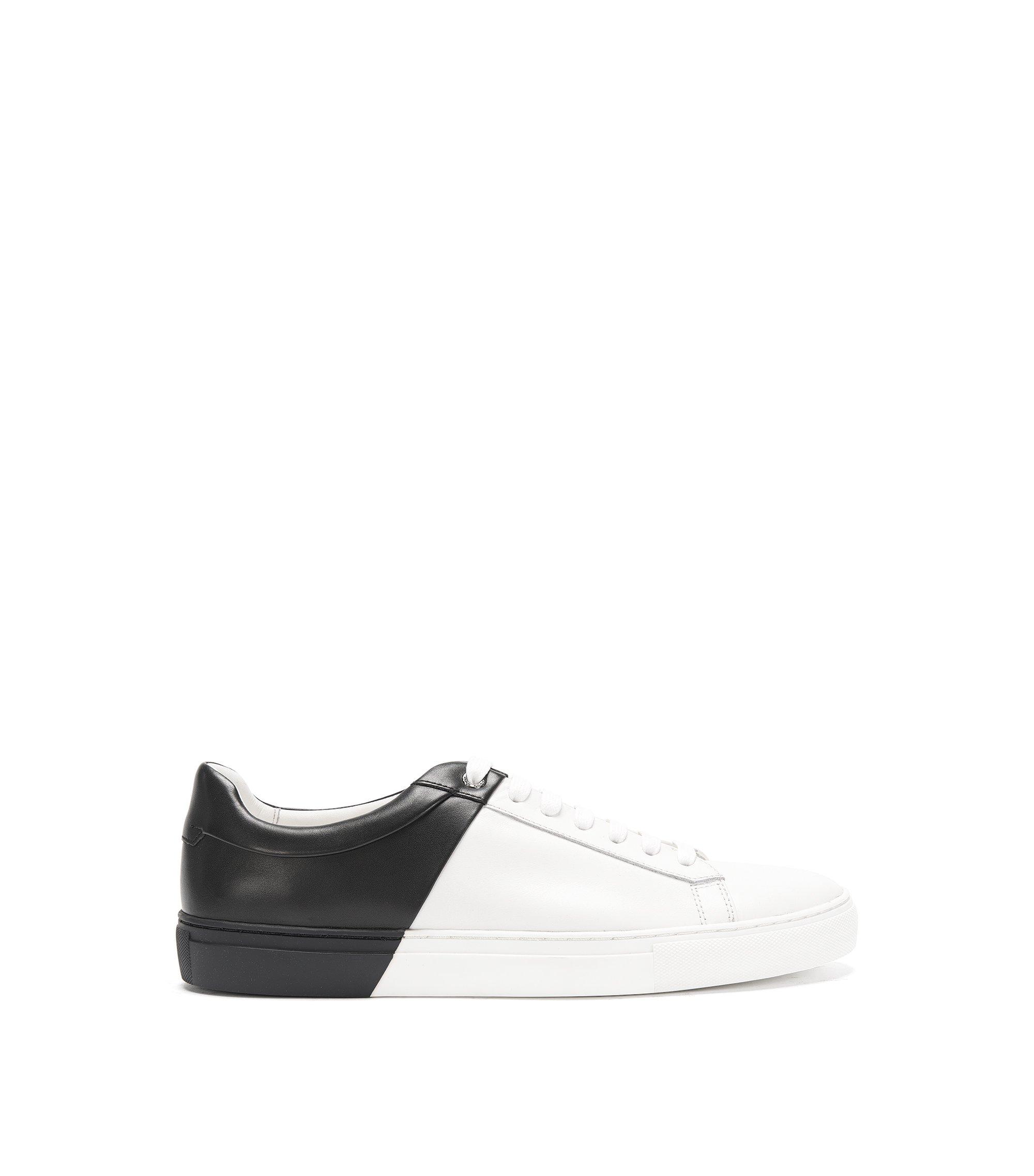 Calfskin Dual-Tone Sneaker | Timeless Tenn ltbc, Black