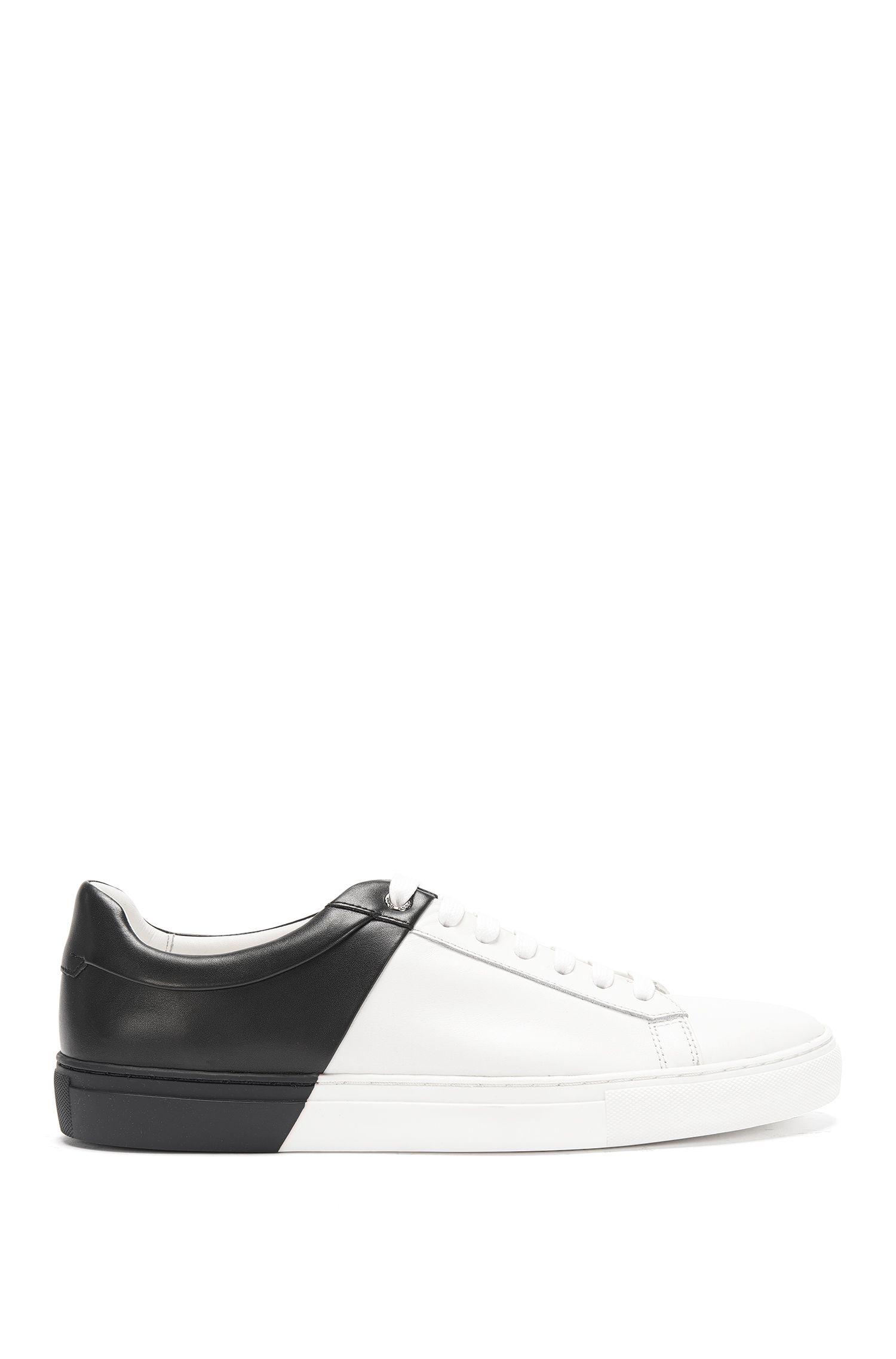 Calfskin Dual-Tone Sneaker   Timeless Tenn ltbc