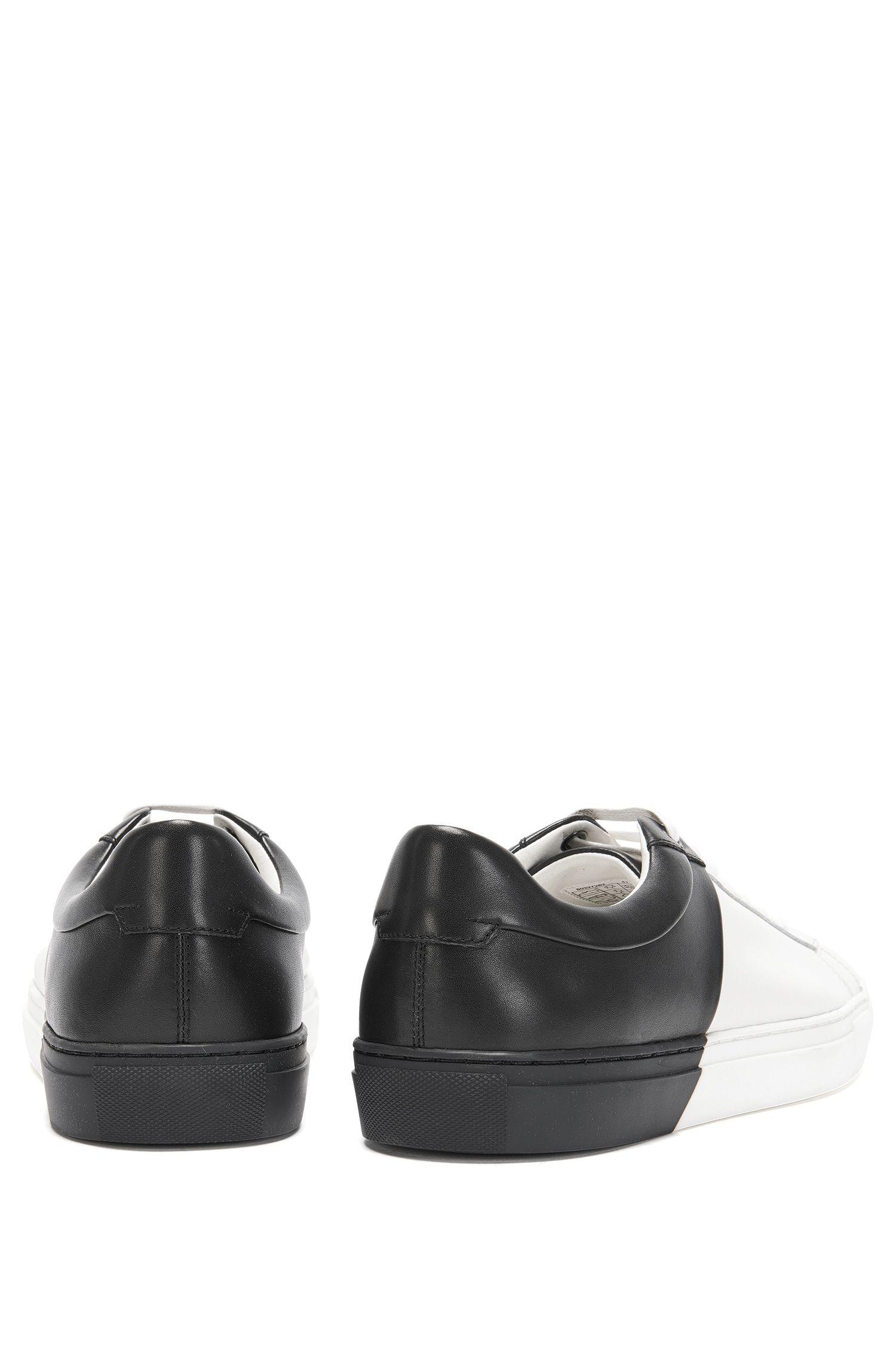 Calfskin Dual-Tone Sneaker | Timeless Tenn ltbc