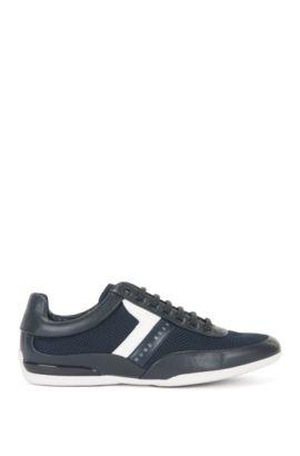 Vegan Leather Sneaker | Space Lowp Syme, Dark Blue