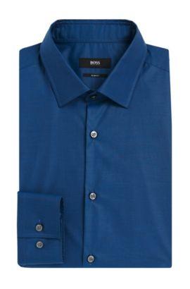 Italian Cotton Dress Shirt, Slim Fit | Jenno, Turquoise