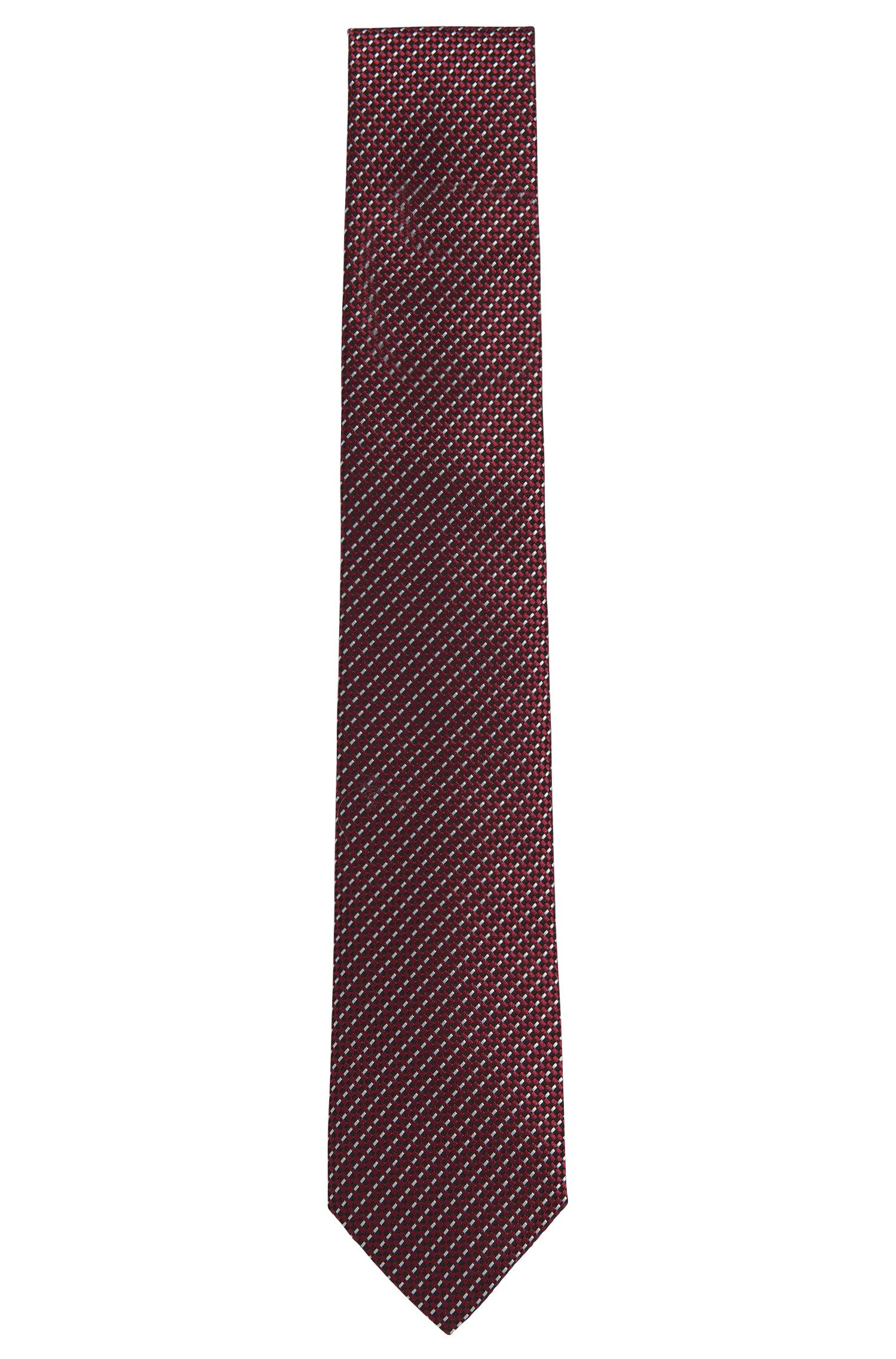 'T-Tie 7.5 cm' | Regular, Italian Silk Patterned Tie