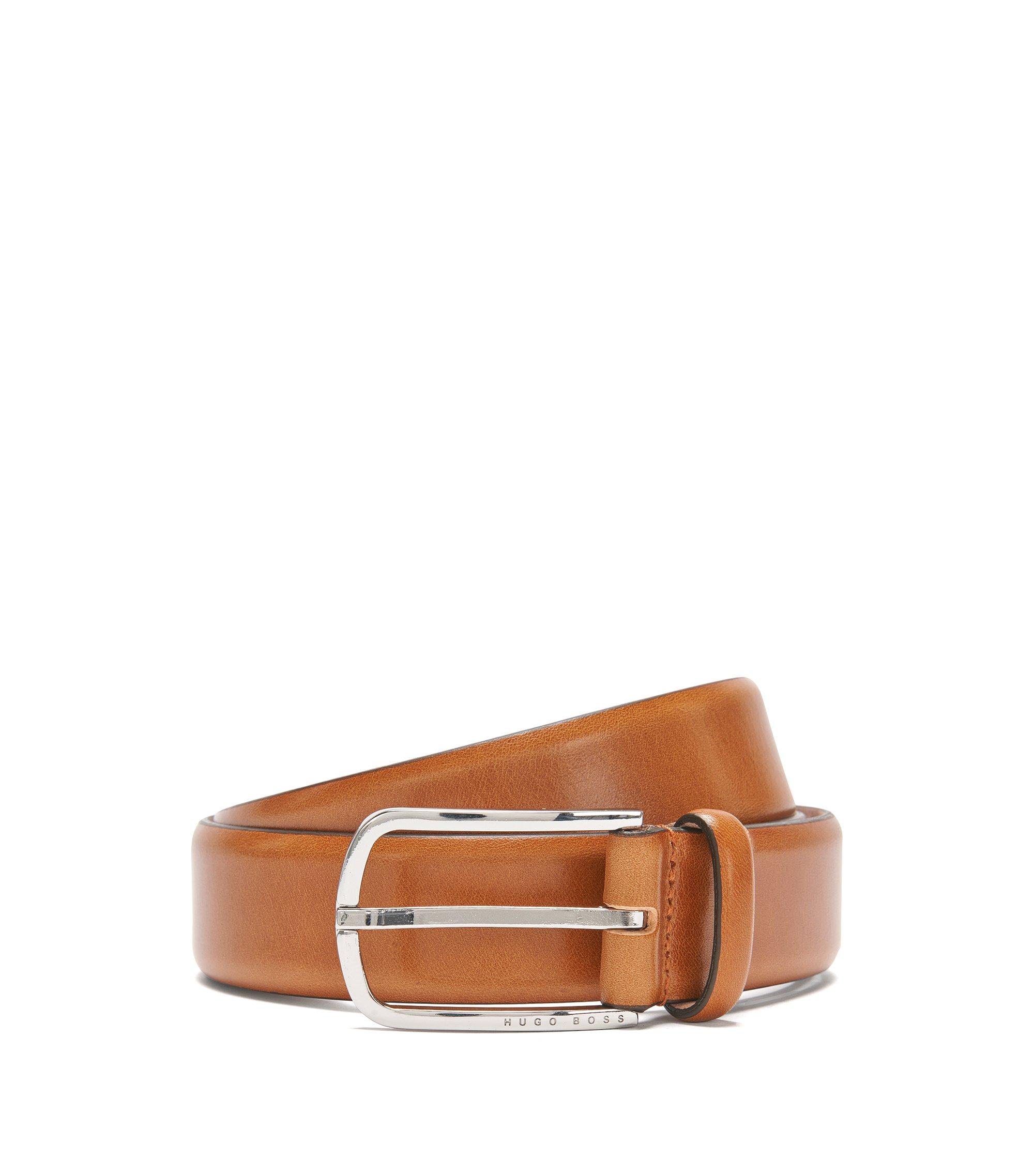 Italian Leather Belt | Celino Sz32 ltpl, Brown