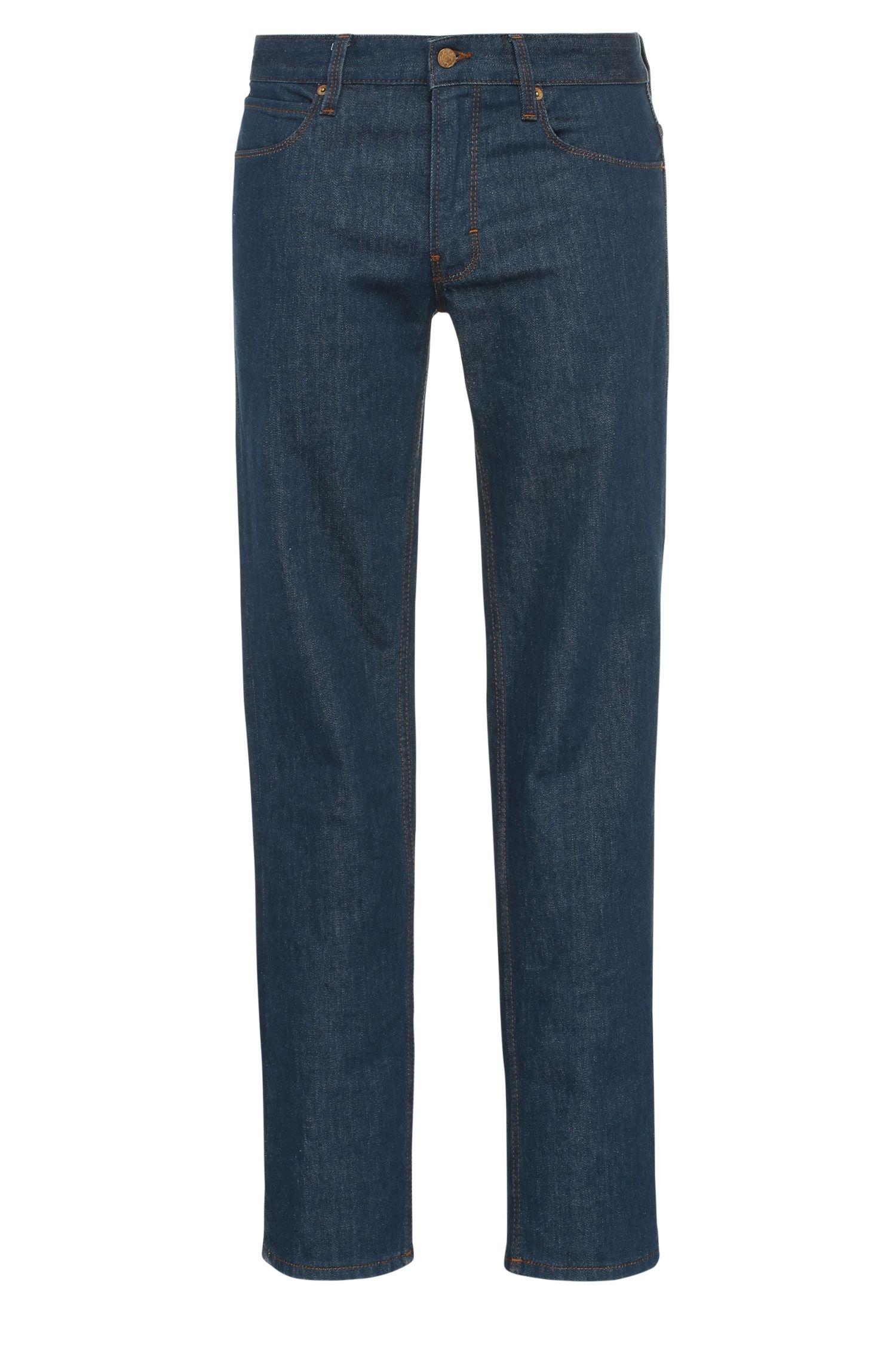 11 oz Stretch Cotton Jeans, Slim Fit | Orange63