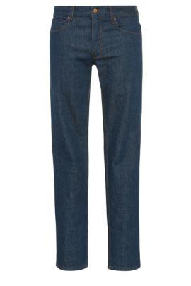 11 oz Stretch Cotton Jeans, Slim Fit | Orange63, Dark Blue