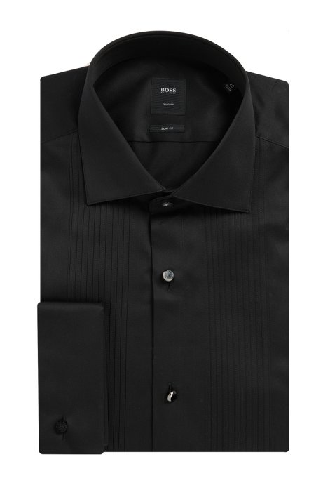 688d24f48 BOSS - Egyptian Cotton French Cuff Dress Shirt, Slim Fit | T-Cameron