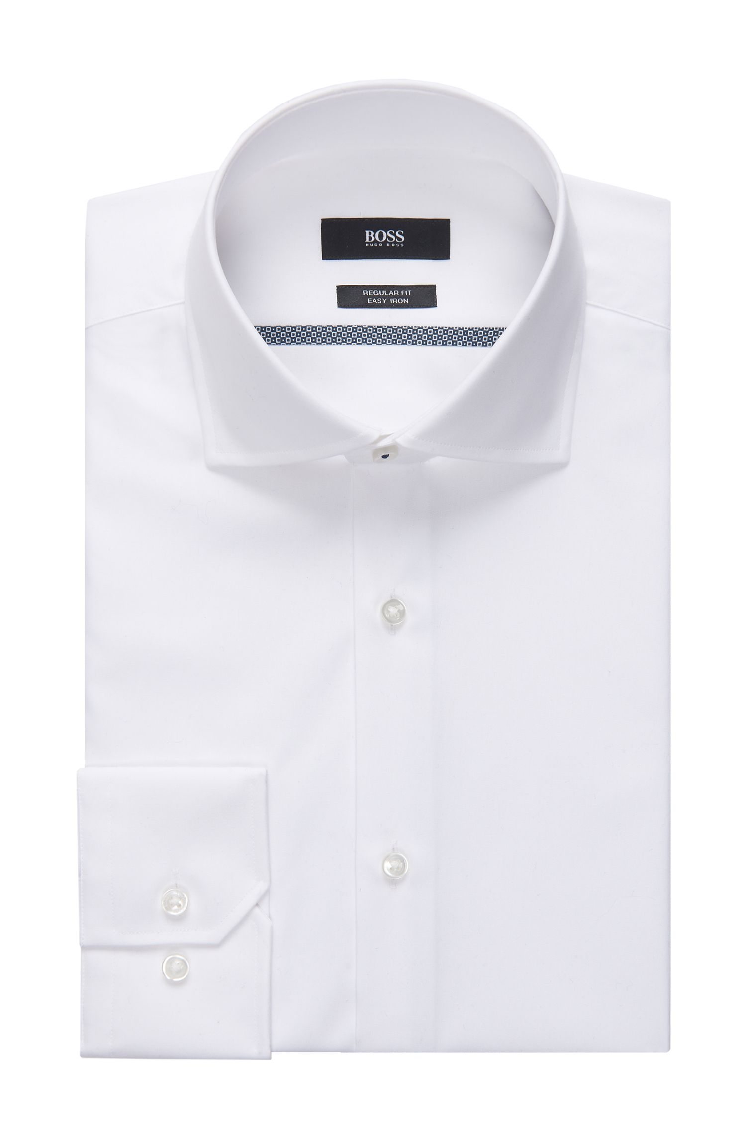 Easy Iron Cotton Dress Shirt, Regular Fit | Gert