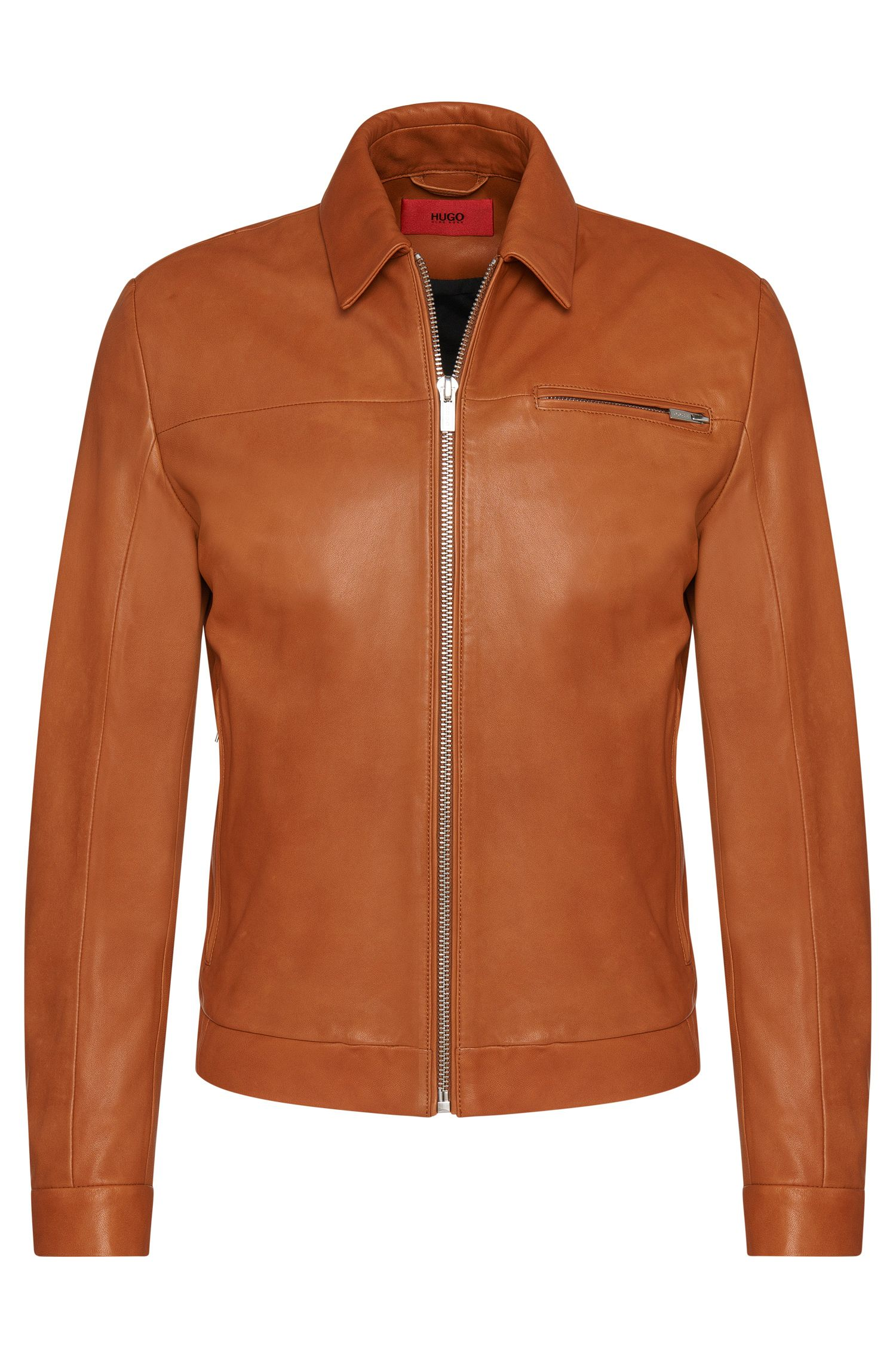 'Latnik' | Lambskin Nappa Leather Jacket