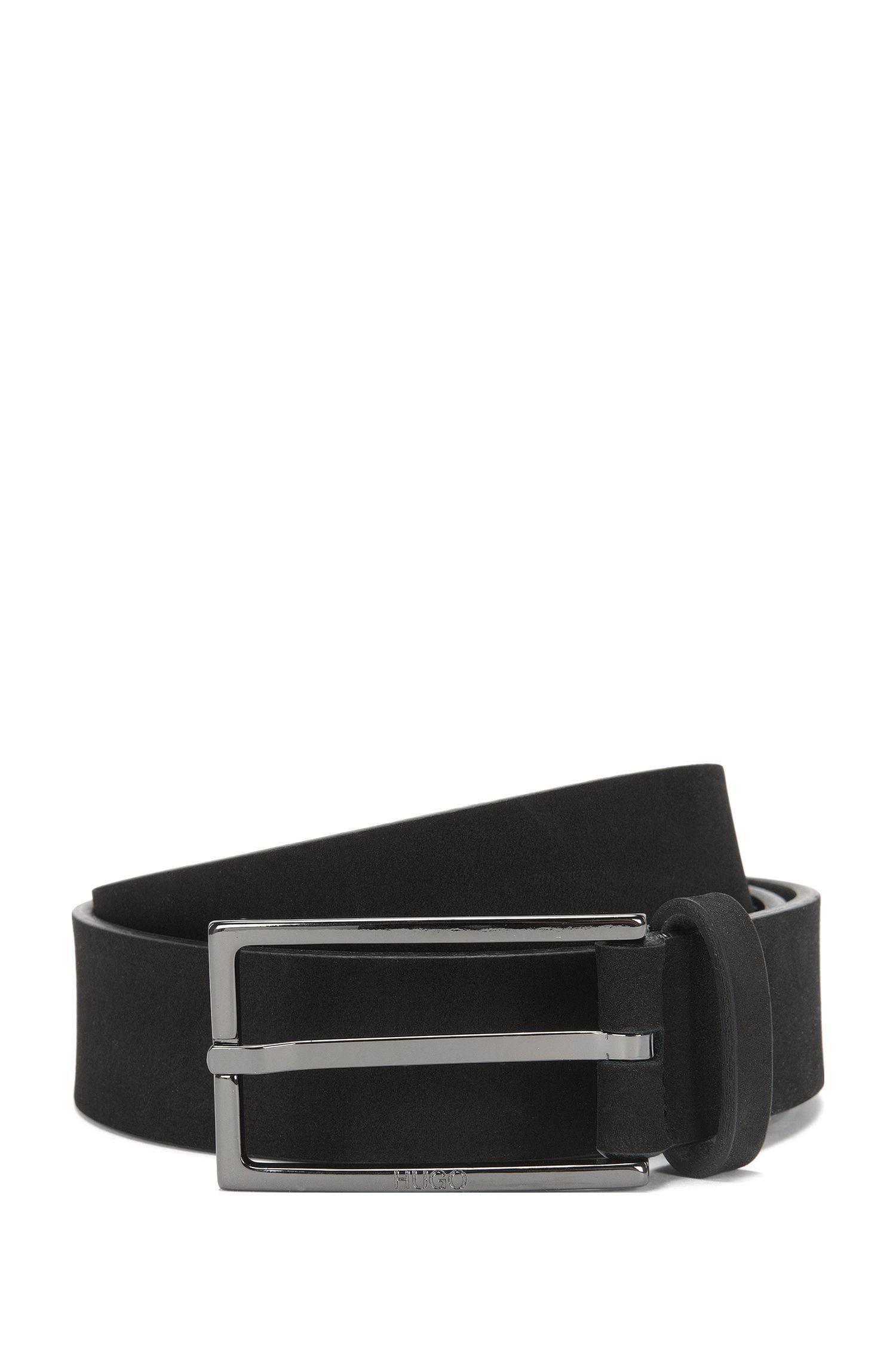 'Gerbert Sz Nu' | Italian Nubuck Leather Belt