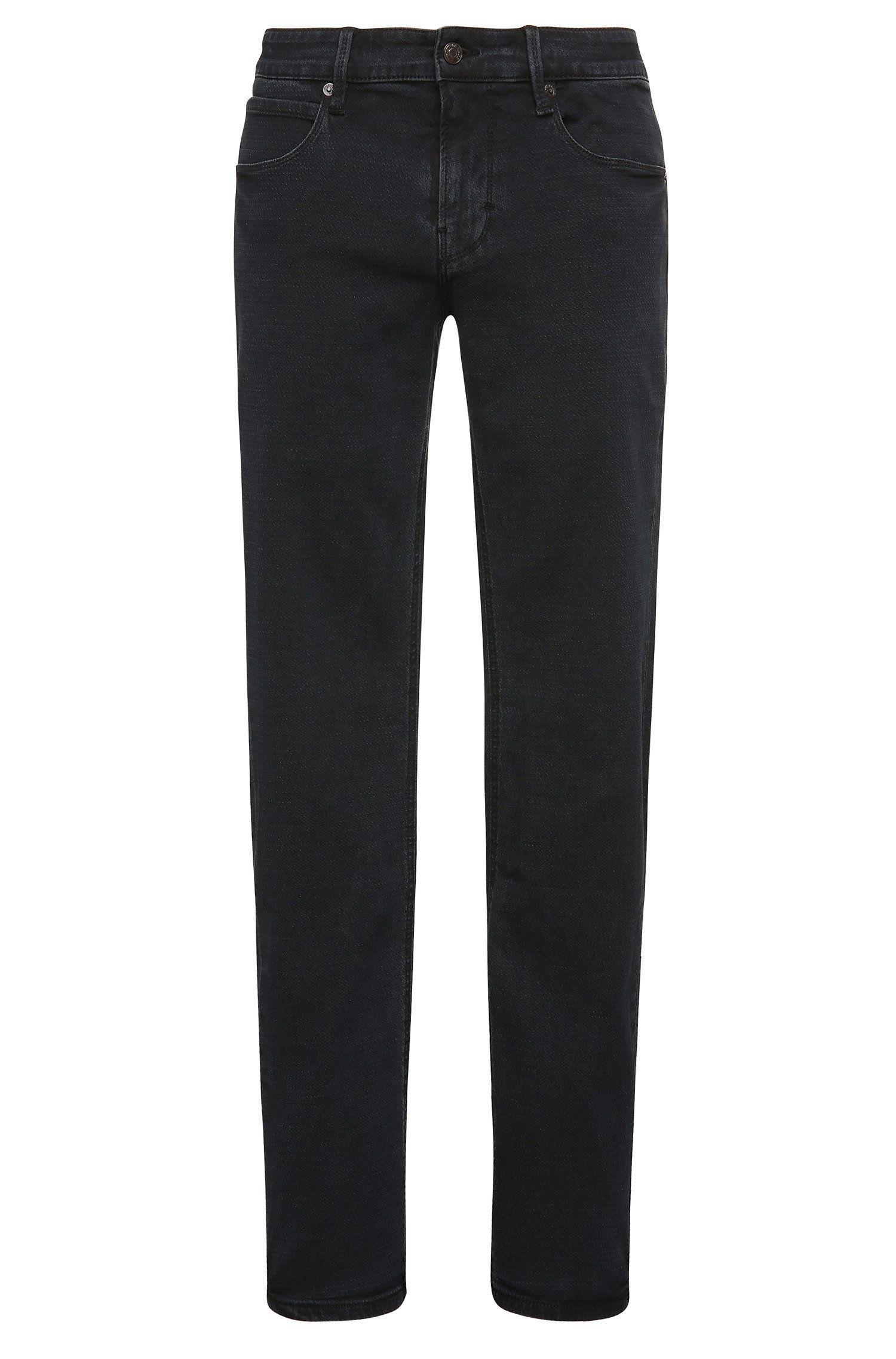 9 oz Stretch Cotton Blend Jeans, Slim Leg | Orange63