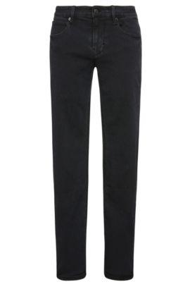 9 oz Stretch Cotton Blend Jeans, Slim Leg | Orange63, Dark Blue