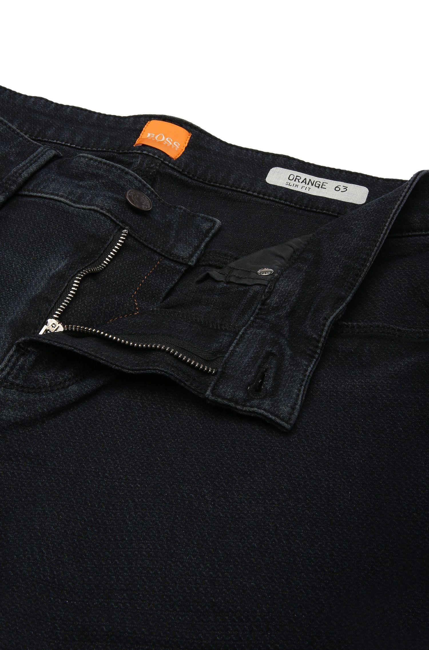 Stretch Cotton Blend Jean, Slim Leg | Orange63