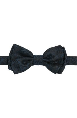 'Bow Tie Fashion' | Silk Jacquard Bow Tie, Turquoise