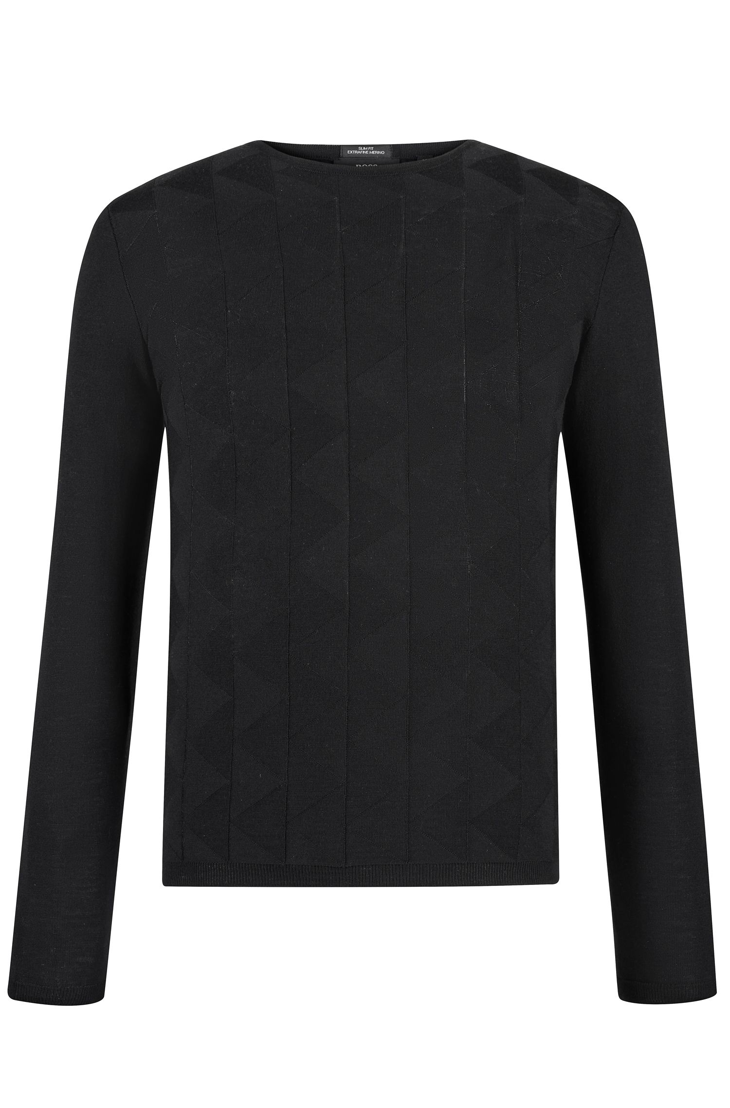 'Ibaro' | Extra-Fine Merino Wool Sweater