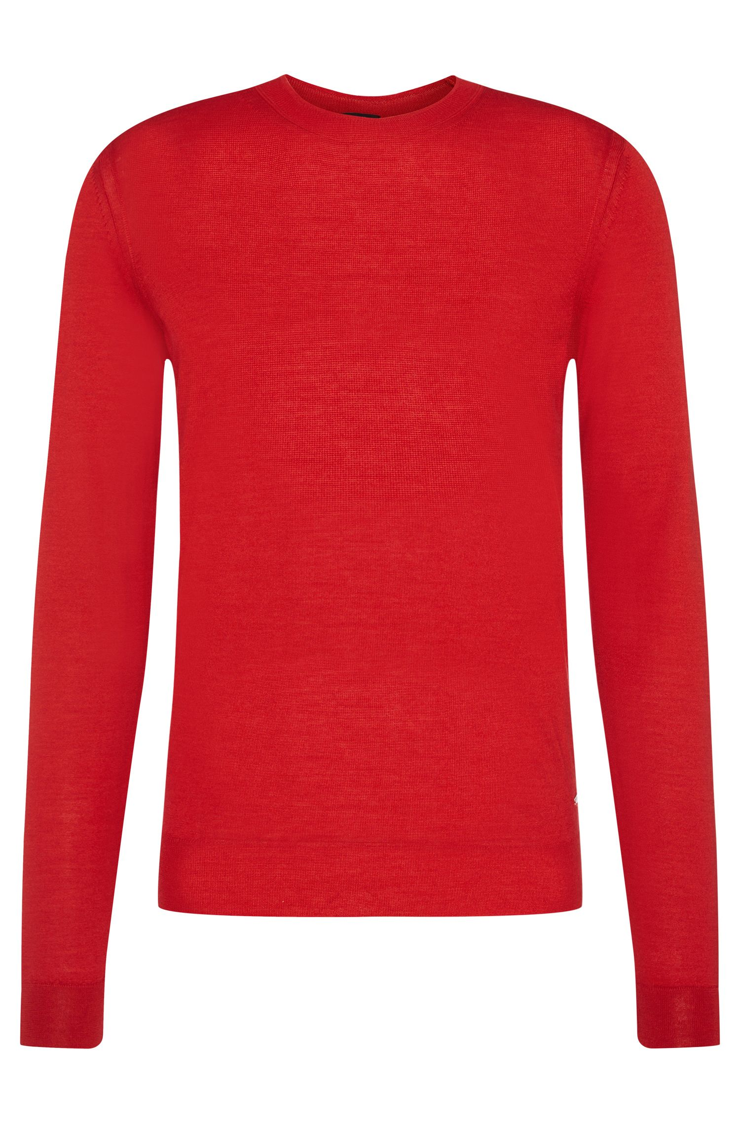'T-Ion' | Italian Virgin Wool Silk Sweater