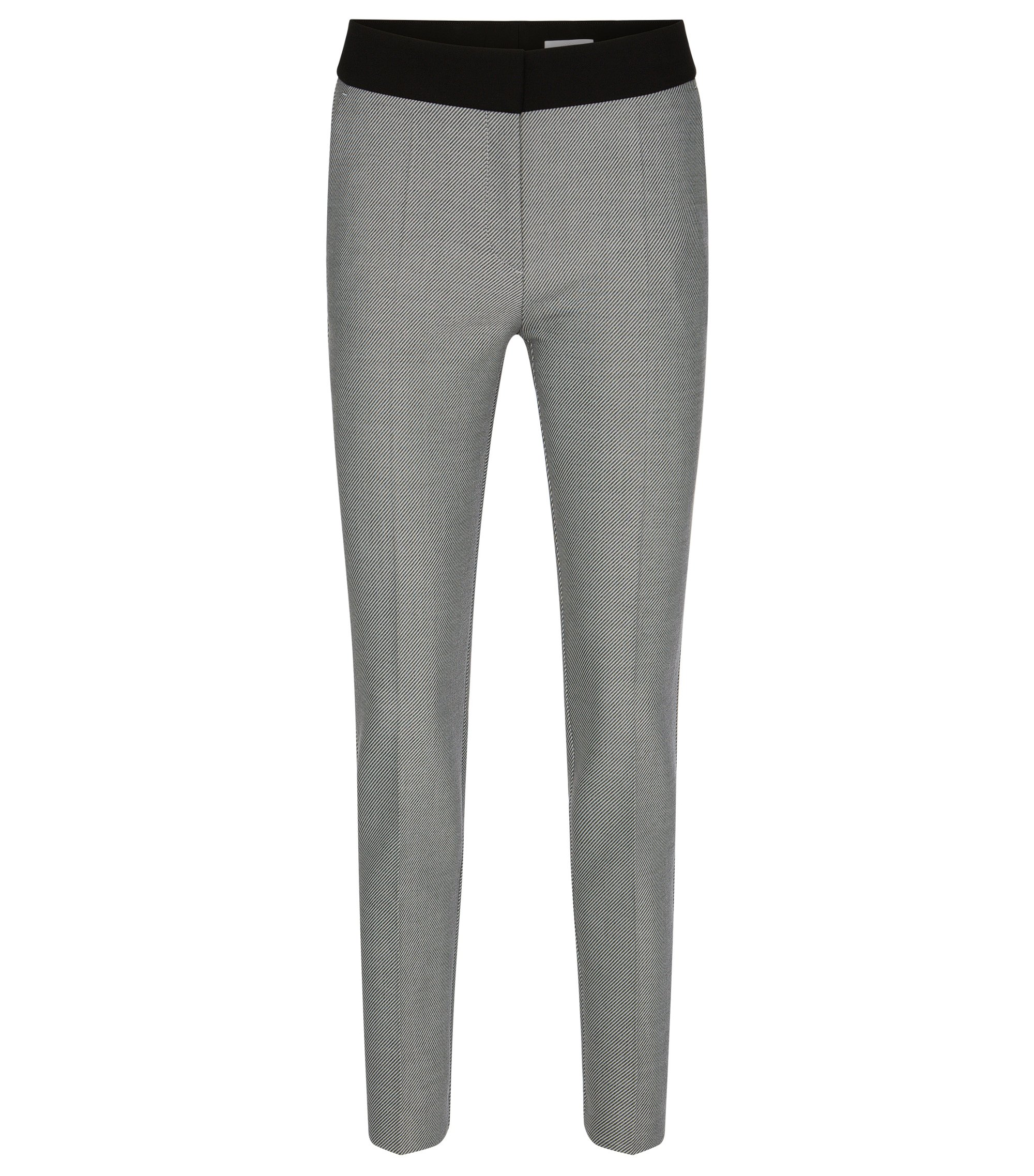 Stretch Contrast Twill Stripe Dress Pant | Acnella, Patterned