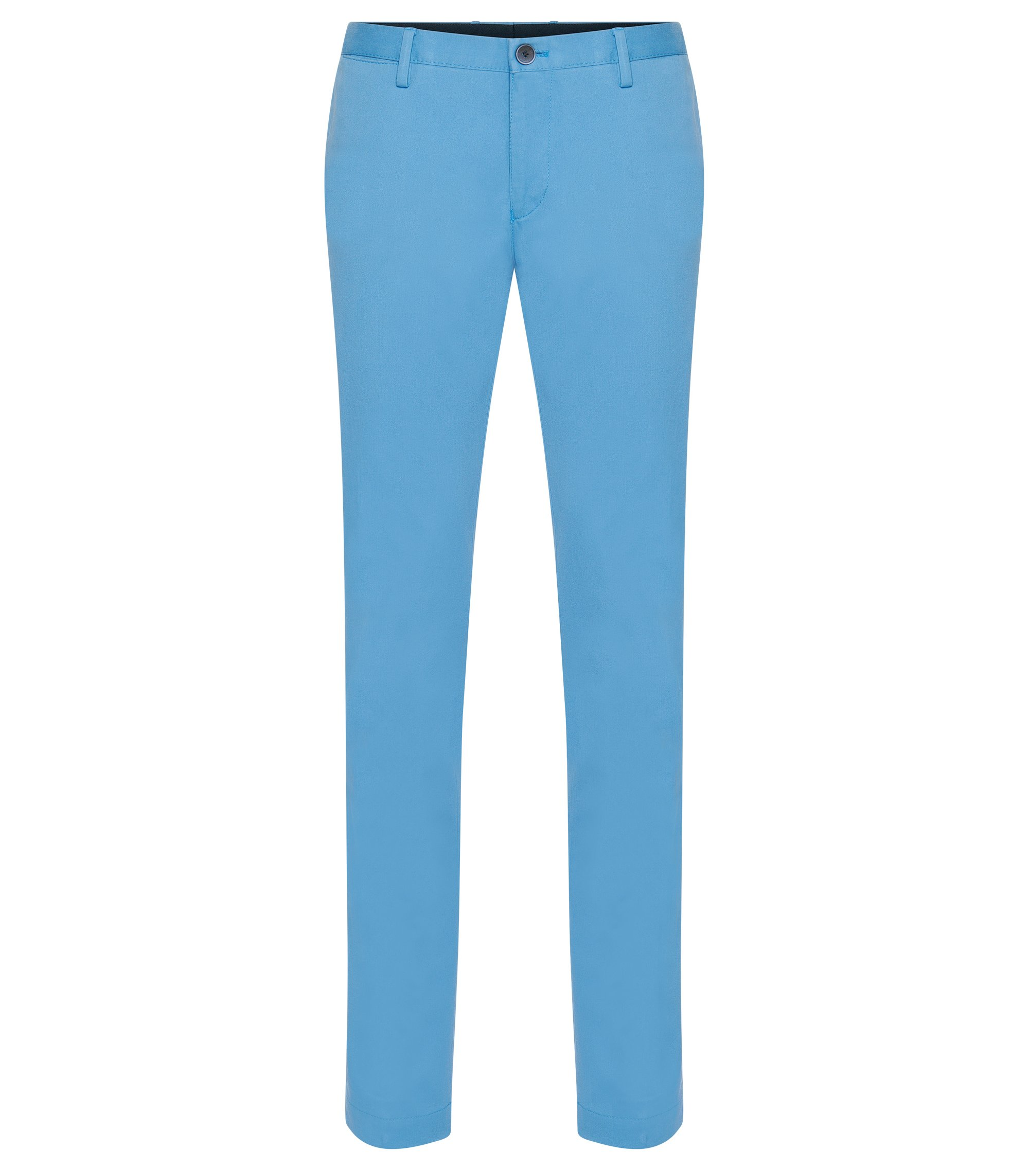 Stretch Cotton Chino Pant, Slim Fit | Stanino W, Light Blue
