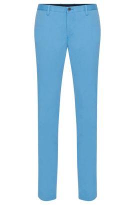 Stretch Cotton Chino Pant, Slim Fit | Stanino W, Light Blue