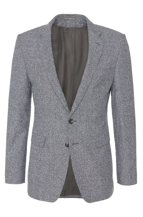 69241e77f BOSS - Italian Virgin Wool Cotton Blend Sport Coat, Extra Slim Fit ...