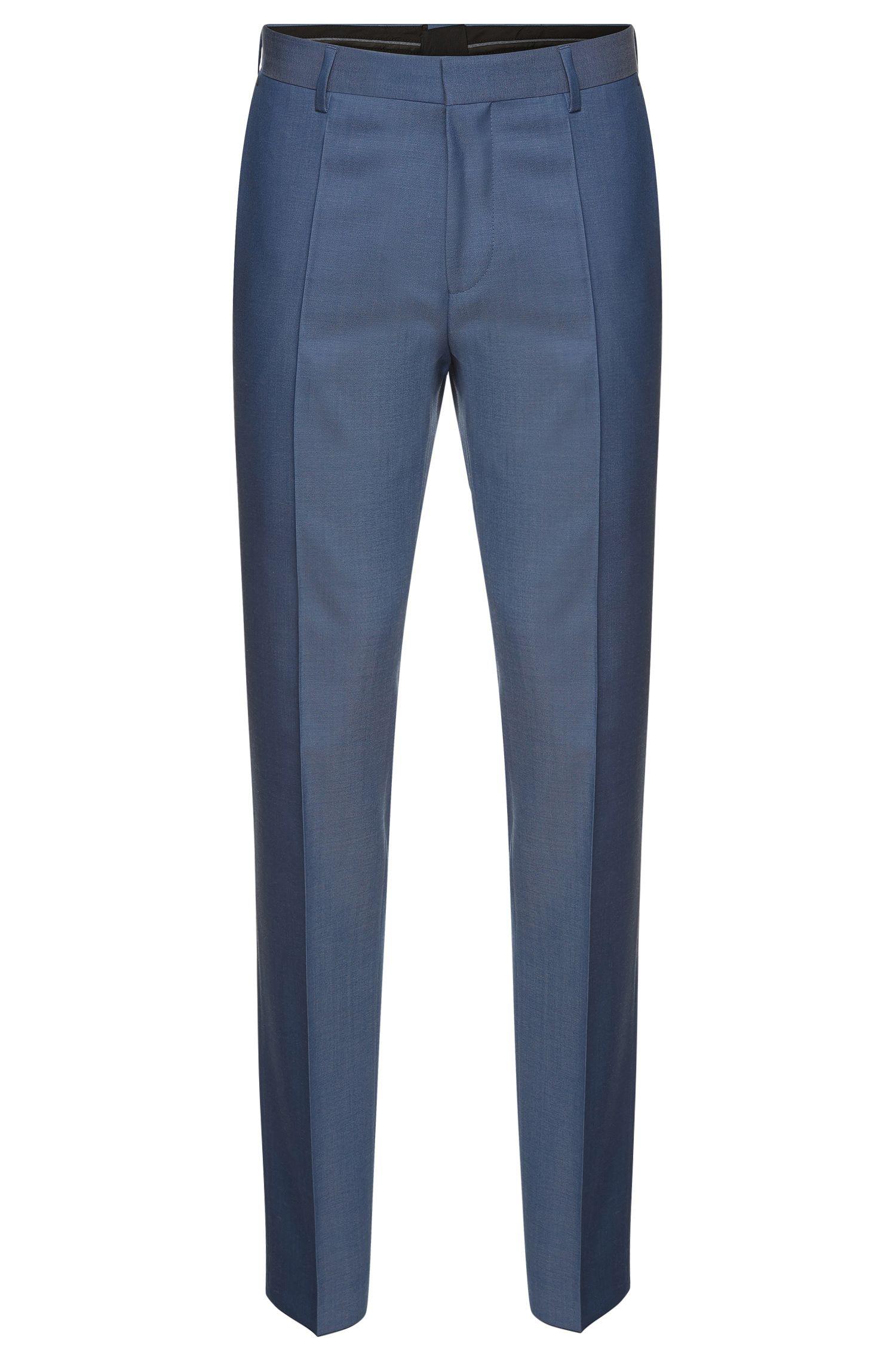 'Genesis'   Slim Fit, Italian Super 100 Virgin Wool Dress Pants
