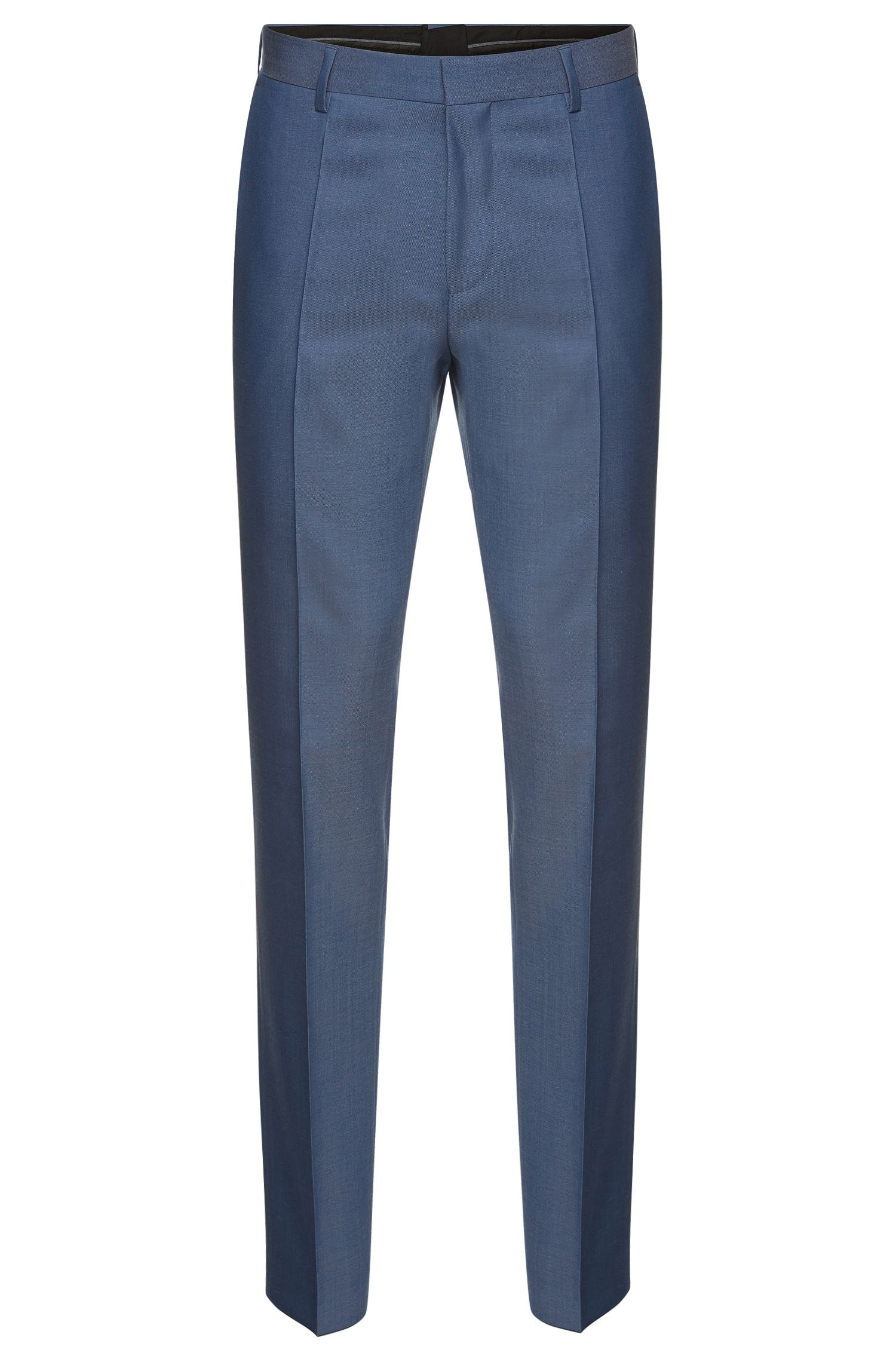 'Genesis' | Slim Fit, Italian Super 100 Virgin Wool Dress Pants