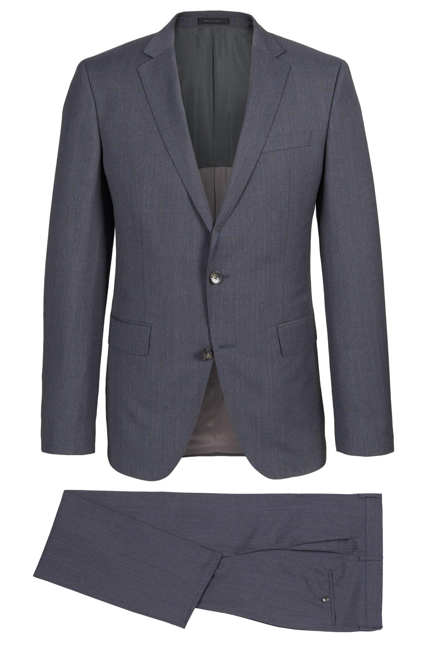 'Huge/Genius' | Slim Fit, Super 100 Virgin Wool Suit