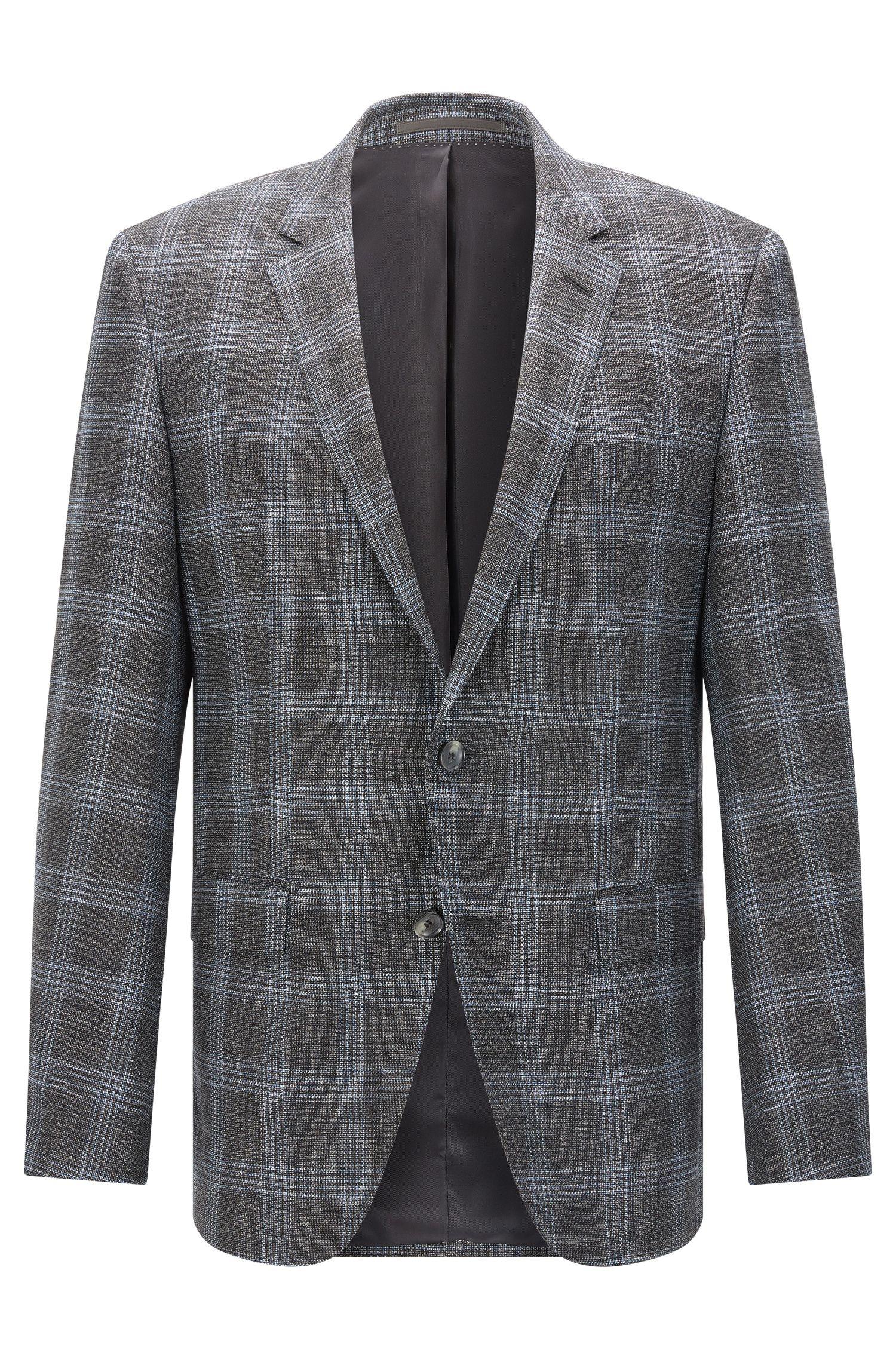 'T-Heel'   Slim Fit, Stretch Virgin Wool Blend Sport Coat