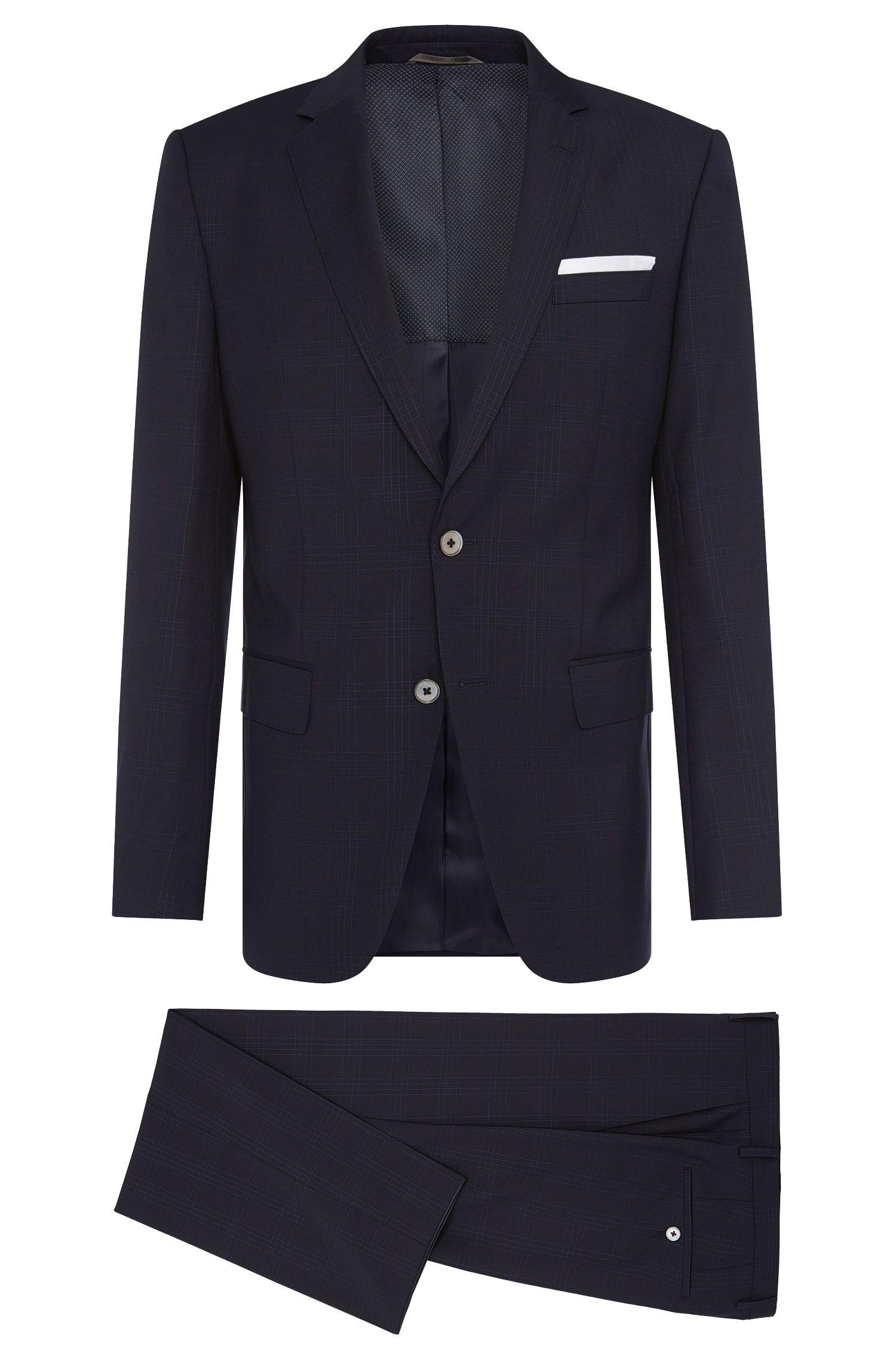 Italian Super 110 Virgin Wool Suit, Slim Fit | Hutson/Gander