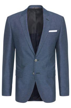 'Hutsons' | Slim Fit, Cotton Blend Sport Coat, Blue