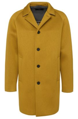 'Vince' | Viscose Relaxed-Fit Overcoat, Green