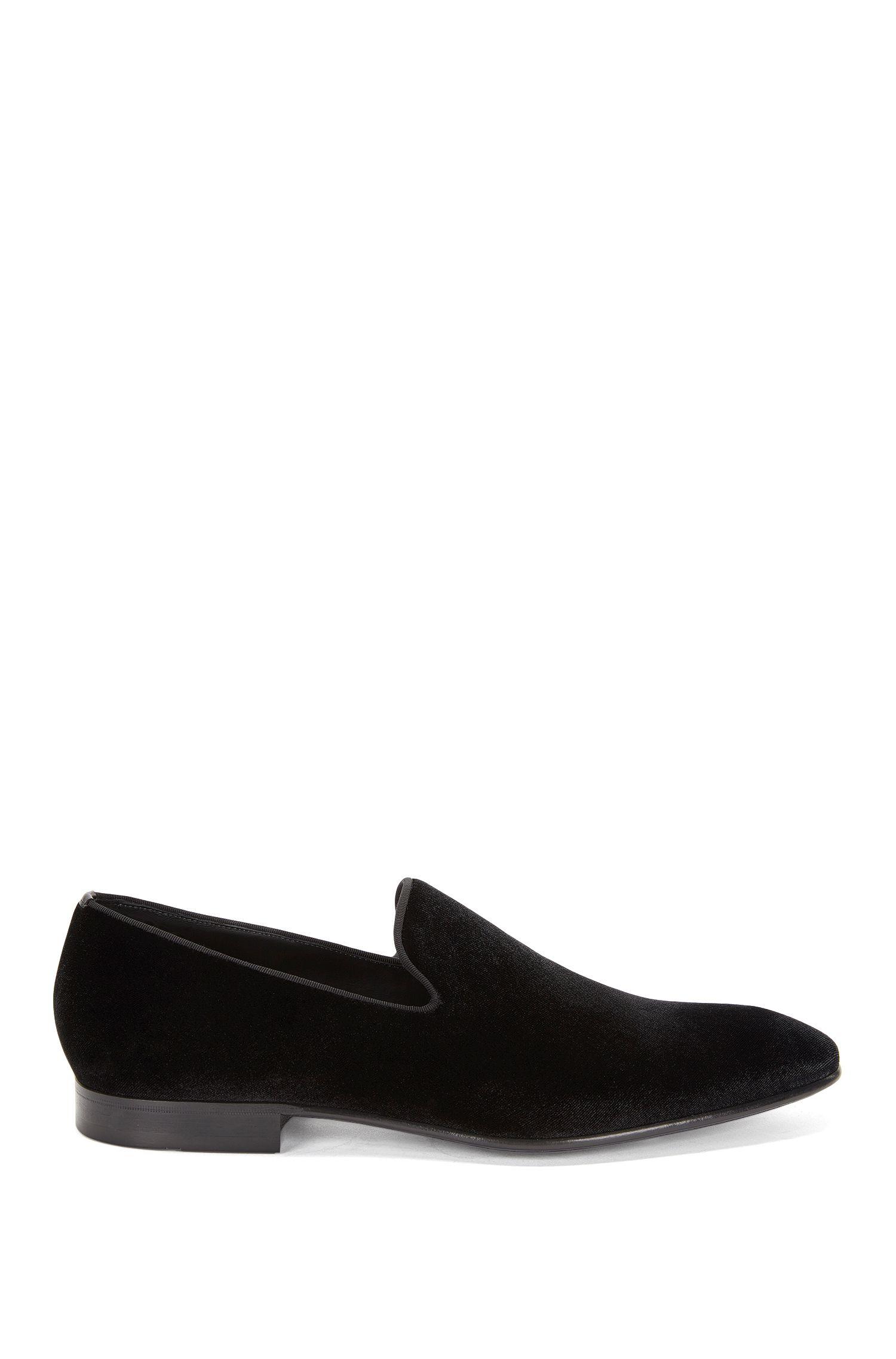 'Evening Loaf Vlt'   Cotton Blend Velvet Dress Loafers