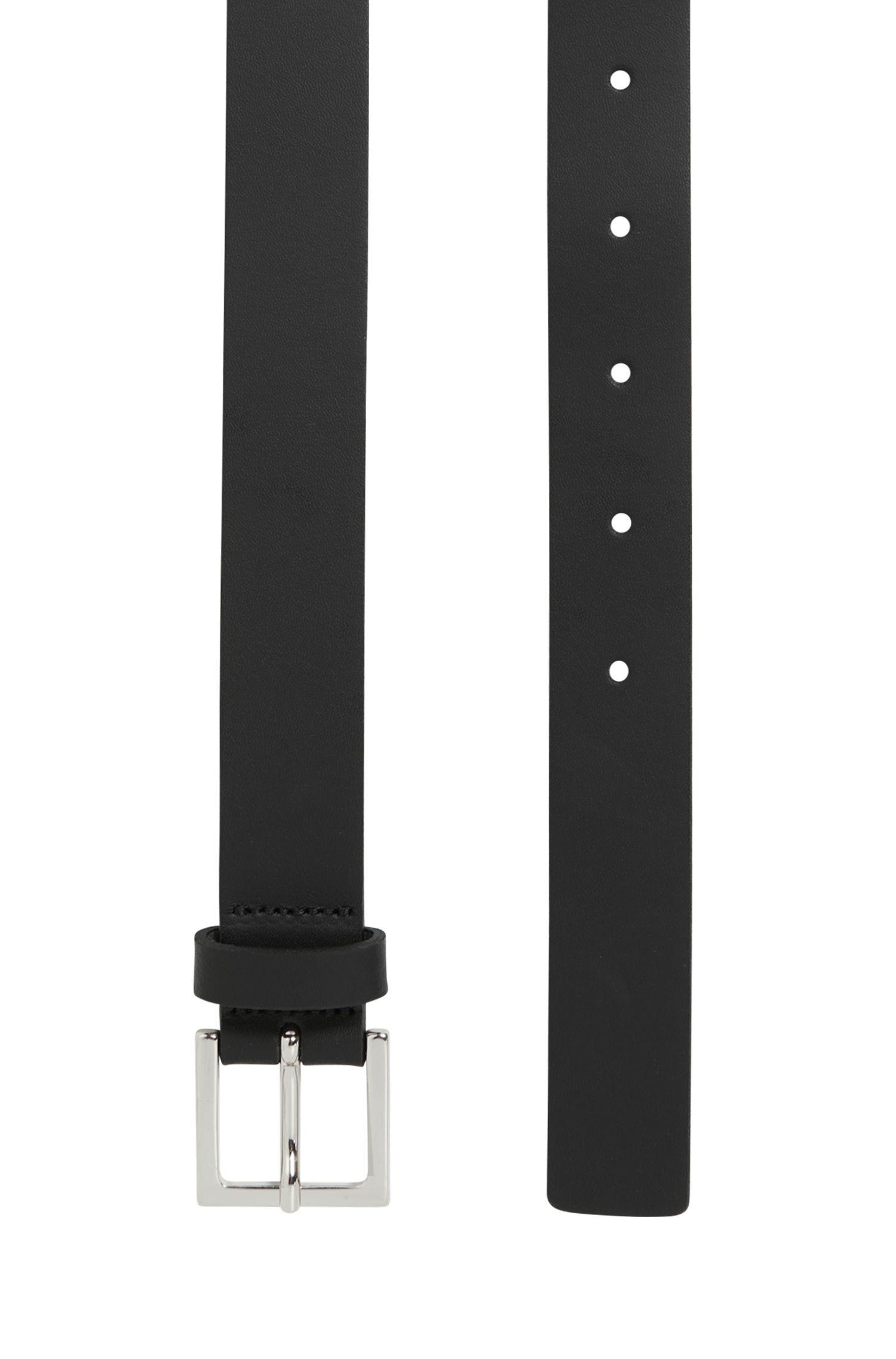 Leather Skinny Belt   Brede