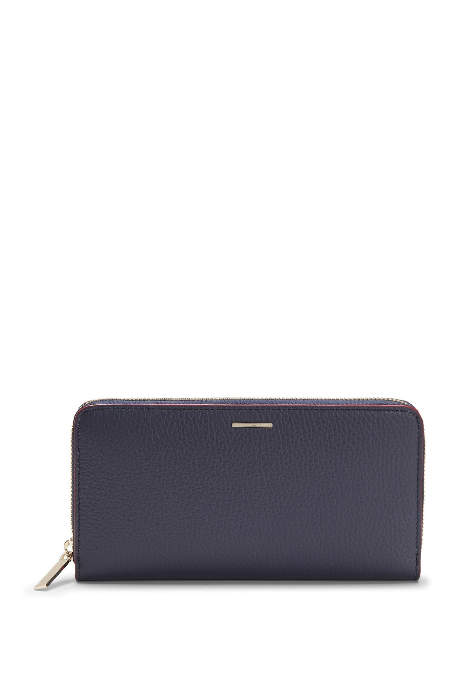 Leather Embossed Zip Wallet | Staple Ziparound A