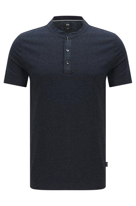 a3ca25e2a BOSS - 'Tiller' | Slim Fit, Cotton Blend Henley T-Shirt