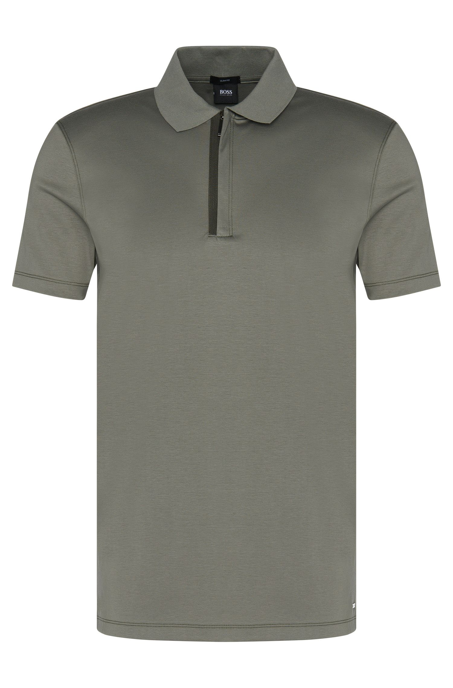 'Plater' | Slim Fit, Cotton Polo