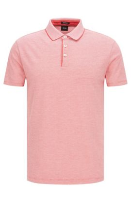 'Pack' | Regular Fit, Pima Cotton Polo Shirt, Red